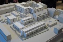 Bochum - Claudiushöfe - Modell
