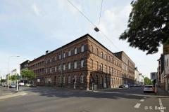 Alte Samtweberei Krefeld im leeren Zustand Mai 2014